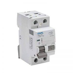 Efapel Modus 55–Interrupteur différentiel 2pôles 30mA-aC 16A Modus de la marque Efapel image 0 produit