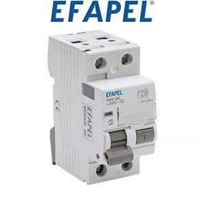 Efapel Modus 55–Interrupteur différentiel 2pôles 300mA Classe–AC 40A Modus de la marque Efapel image 0 produit