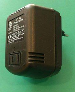elcart lc00212Bloc d'alimentation de Voyage convertisseur de Tension AC/AC 220V/110V 45W Transformateur de Tension de réseau de la marque elcart image 0 produit