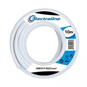 Electraline 20607085J Couronne de câble H05VV-F pour rallonge 10 m section 3G2,5 mm² de la marque Electraline image 0 produit