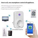 ELEGIANT Prise Intelligente, WiFi 2.4GHz Interrupteur Domotique Switch Smart Télécommande Commutateur Compatible Tablette Smartphone iOS Android de la marque ELEGIANT image 1 produit