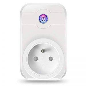 ELEGIANT Prise Intelligente, WiFi 2.4GHz Interrupteur Domotique Switch Smart Télécommande Commutateur Compatible Tablette Smartphone iOS Android de la marque ELEGIANT image 0 produit