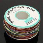 ELEGIANT Wrapping Test, câble de Test Wrapping Fil de cuivre Fil bobiné Enrouleur de câble Rouleau de p/n B 30–1000200M 30AWG 8Wire Câble de Couleur de la marque ELEGIANT image 4 produit