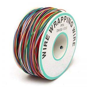 ELEGIANT Wrapping Test, câble de Test Wrapping Fil de cuivre Fil bobiné Enrouleur de câble Rouleau de p/n B 30–1000200M 30AWG 8Wire Câble de Couleur de la marque ELEGIANT image 0 produit