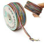 ELEGIANT Wrapping Test, câble de Test Wrapping Fil de cuivre Fil bobiné Enrouleur de câble Rouleau de p/n B 30–1000200M 30AWG 8Wire Câble de Couleur de la marque ELEGIANT image 2 produit