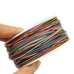 ELEGIANT Wrapping Test, câble de Test Wrapping Fil de cuivre Fil bobiné Enrouleur de câble Rouleau de p/n B 30–1000200M 30AWG 8Wire Câble de Couleur de la marque ELEGIANT image 3 produit