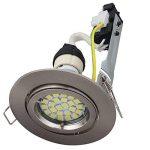 Elinkume 5X GU10 Douille pour Ampoule Standard Titulaire fil Socket Base de Connecteur avec Boîte de Jonction Adaptateur de Base de la marque ELINKUME image 4 produit