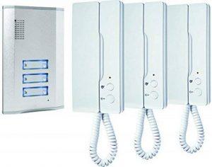 ELRO - Smartwares IB63 SW Portier audio 3 combines de la marque ELRO - Smartwares image 0 produit