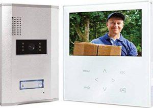 Elro VD71W Interphone vidéo avec écran plat tactile (Blanc) de la marque Elro image 0 produit