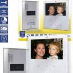 Elro VD71W Interphone vidéo avec écran plat tactile (Blanc) de la marque Elro image 1 produit
