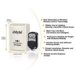 Emylo® DC 12V 2canaux Smart contrôleur de commutateur de commande à distance sans fil Extender émetteur Noir de la marque eMylo image 1 produit