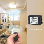 eMylo® DC 12V 1 canal 433Mhz RF Smart Relais Télécommande sans fil Interrupteur émetteur avec récepteur de la marque eMylo image 2 produit