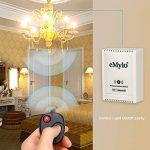 eMylo® DC 12V 2 canaux relais sans fil 433Mhz RF Télécommande Interrupteur émetteur avec récepteur de la marque eMylo image 2 produit