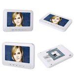 ENNIO 7 pouces LCD 2 Appartements Vidéo Interphone Système de Interphone IR-CUT HD 1000TVL Caméra Sonnette Caméra avec 2 Bouton 2 Moniteur Étanche de la marque ENNIO image 1 produit