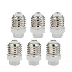 ENUOTEK Adaptateur Transformateur de Douille Lampe Ampoule Edison E27 vers G9 GU9 Lot de 6 de la marque ENUOTEK image 0 produit