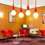 ENUOTEK Suspension Silicone Lampe Douille E27 Luminaire Suspendu Rouge Couleur Moderne pour Restaurant Cuisine Salle a Manger Salon de la marque ENUOTEK image 4 produit