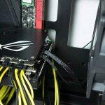 ETSAMOR 4PIN/3PIN PWM Câble de Ventilateur CPU, Ligne d'Alimentation Châssis de la Carte Mère Adapté à Différents Types de Radiateurs Large Chassis Puissance Carte Mère d'extension à manchon noir de la marque ETSAMOR image 4 produit