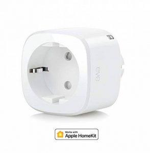 Eve Energy - Interrupteur et compteur de consommation sans fil avec technologie Apple HomeKit, Bluetooth Low Energy de la marque EVE image 0 produit