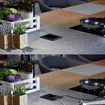 EVOLINE PORT PUSH Schuko encastrés cuisine Escamotable Verre Noir 564842 de la marque Schulte Elektrotechnik GmbH & Co. KG image 3 produit