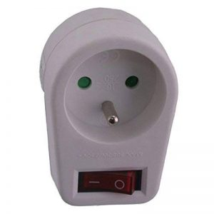 Exin 54.403.65 Prise commutateur lampe 10/16A Blanc de la marque Exin image 0 produit