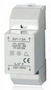 Extel WE 399 BIS Ser R1 Transformateur modulaire pour Carillon filaire de la marque CFIEX image 0 produit