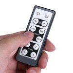 Fdit Commutateur de gradateur à LED avec télécommande IR Réglable à distance 12 touches de télécommande pour panneau d'armoire maison 200W(220V) de la marque Fdit image 2 produit