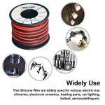 Fil électrique 16 AWG Calibre 16 Branchez Fil Silicone câble 3 m [1.5 m Noir et rouge 1.5 m] - Souple et flexible 252 mèches 0,08 mm de fil de cuivre étamé haute résistance à la température de la marque TUOFENG image 2 produit