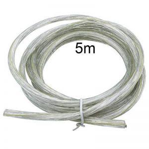 100 mètres lacet orange 0,14mm² cuivre boutons toron LifY Câble sur bobine