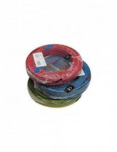 Fil électrique rigide bobine 100m 1.5mm2 vert jaune de la marque REVENERGIE image 0 produit