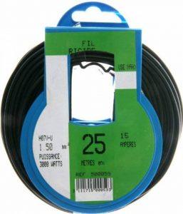 fil électrique souple 1.5 mm2 TOP 2 image 0 produit