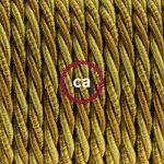 Fil Électrique Torsadé Gaine De Tissu De Couleur Effet Soie Borbone TG03 - 10 mètres, 3x0.75 de la marque Creative-Cables image 1 produit