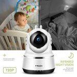 FREDI Caméra sans Fil 720P IP Caméra WiFi Surveillance Vision à Distance de Jour et Nocturne Caméra Sécurité Panoramique Moniteur Bébé Interphone Audio Bidirectionnel de la marque FREDI image 3 produit