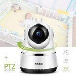 FREDI Caméra sans Fil 720P IP Caméra WiFi Surveillance Vision à Distance de Jour et Nocturne Caméra Sécurité Panoramique Moniteur Bébé Interphone Audio Bidirectionnel de la marque FREDI image 1 produit