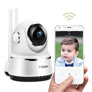 FREDI Caméra sans Fil 720P IP Caméra WiFi Surveillance Vision à Distance de Jour et Nocturne Caméra Sécurité Panoramique Moniteur Bébé Interphone Audio Bidirectionnel de la marque FREDI image 0 produit