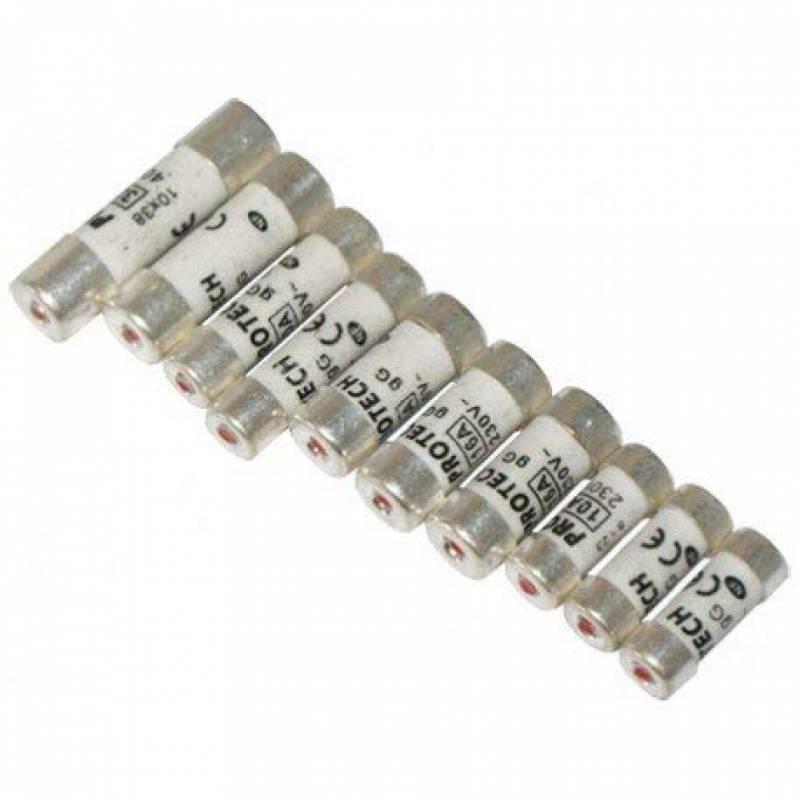 Voltman VOM511153 Blister fusibles 10 amp/ères C/éramique