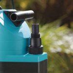 GARDENA Pompe d'évacuation pour eaux chargées aquasensor 13000 Comfort: pompe immergée, débit 13000 l/h, fonctionnement automatique, moteur silencieux et sans entretien, raccord universel (1799-20) de la marque Gardena image 2 produit