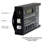 Garosa Contrôleur de Temps programmable de LED Contrôleurs multifonctionnels de gradateur de minuterie DC12 / 24V 20A 5 Couleurs réglables avec Le câble de CD USB de la marque Garosa image 3 produit