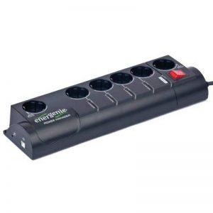 GemBird Bloc multiprises programmable 6 prises avec parasurtenseurs LED de contrôle Filtre anti-interférences (Import Allemagne) de la marque Gembird image 0 produit