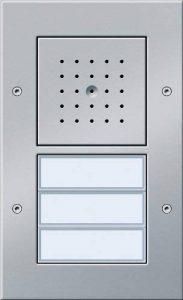 Gira 126767 Interphone vidéo 3 boutons montage apparent Anthracite de la marque Marque : Gira image 0 produit