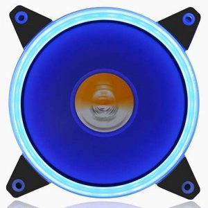 GOLDEN FIELD Solaire Halo Roulement Ultra Silencieux 120 mm LED ventilateur pour boîtier de l'ordinateur CPU Cooler bleu de la marque GOLDEN FIELD image 0 produit