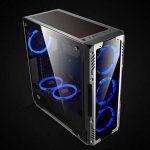 GOLDEN FIELD Solaire Halo Roulement Ultra Silencieux 120 mm LED ventilateur pour boîtier de l'ordinateur CPU Cooler bleu de la marque GOLDEN FIELD image 4 produit