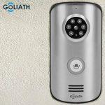 Goliath communication radio vidéo, Interphone avec caméra et ouverture de porte, mémoire vidéo, Surveillance de portesans fil –portée 30m de la marque Goliath image 4 produit