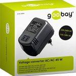 Goobay 54754 Transformateur de tension 45 W, 230 V vers 110 V (Import Allemagne) de la marque GOOBAY image 1 produit