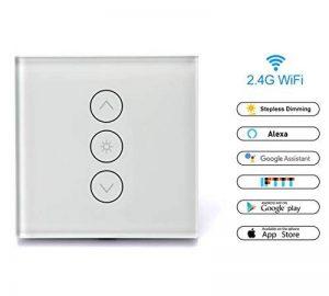 Gradateur Smart Wi-Fi Wireless Remote Switch Télécommande Appareils gain de temps, idéal pour Alexa, Google Assistant et etc. de la marque McDoo! image 0 produit