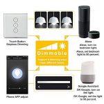 Gradateur Smart Wi-Fi Wireless Remote Switch Télécommande Appareils gain de temps, idéal pour Alexa, Google Assistant et etc. de la marque McDoo! image 3 produit