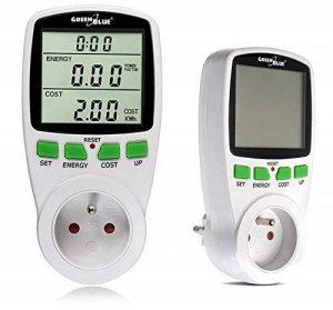 GreenBlue GB202 La consommation d'énergie mètre wattmètre prise compteur d'énergie de compteur de la marque Green Blue image 0 produit