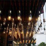 GreenSun Douille de lampe en alu pour ampoule LED Edison E27, Douille de plafonnier, Douille, Culot, Pied de lampe rétro vintage, Support pour lampes à suspension, Adaptateur plafonnier, Éclairage, Socle de la marque GreenSun LED Lighting image 4 produit