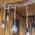 GreenSun LED Lighting 5m Fil électrique Corde, 2 Cœurs Linge de Câble d'éclairage de Corde Vintage Fil de cuivre recouvert Rétro Tressé Industriel Corde pour DIY Pendentif Lampe de la marque GreenSun LED Lighting image 4 produit