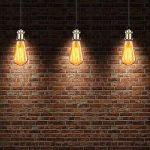 GreenSun LED Lighting 6 Pack Edison Douille Vintage E27 Adaptateur De Lampe Rétro Lustre Sans Fil En Céramique à L'intérieur 110-240V Bronze de la marque GreenSun LED Lighting image 4 produit