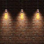 GreenSun LED Lighting 6 Pack Edison Douille Vintage E27 Adaptateur De Lampe Rétro Lustre Sans Fil En Céramique à L'intérieur 110-240V Rouge Cuivre de la marque GreenSun LED Lighting image 4 produit